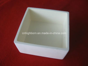Refractory Square Alumina Ceramic Crucible for Furnace pictures & photos