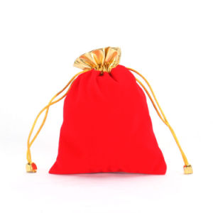 Red Velvet Jewelry Pouch (CVB-1064) pictures & photos