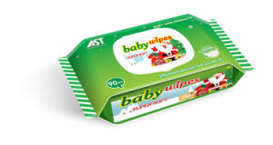 90PCS European Style Cotton Non-Woven Baby Wet Wipe pictures & photos