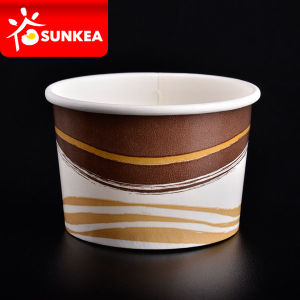 Paper Custom Eco-Friendly Icecream Cup pictures & photos