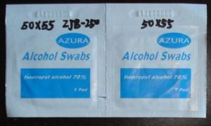 Zjb Series Medical Alcohol Antisepticl Prep Pad Swabs Packing Machine at Home pictures & photos