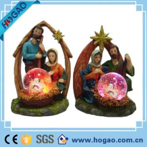 Polyresin Jesus Manger Water Globe pictures & photos