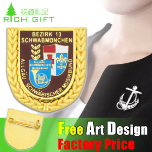 Custom Promotional Metal Badge of Honor Professional Supplier in China pictures & photos
