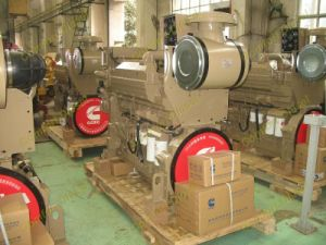 Cummins Kta19-Dm Kta19-G2m Kta19-G4m Auxiliary Marine Engine Used for Marine Generator Set
