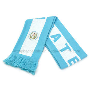 Wholesale Custom Cheap Knitted Warm Wool Football Game Scarf pictures & photos