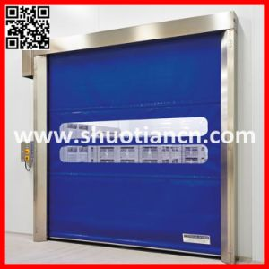 Traffic Roll up High Speed Warehouse Door (T-001) pictures & photos