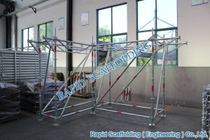 ANSI Asnzs Standard Ringlock Scaffolding for Sales pictures & photos