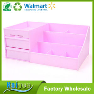 Plastic Waterproof Drawer Type Desktop Makeup Storage Box pictures & photos