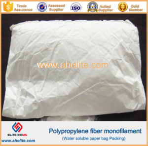 Cracking-Resistance PP Monofilament Fiber with High Strength pictures & photos
