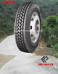 Long March Tubeless Drive Truck Tyre with 4 Sizes (LM516) pictures & photos