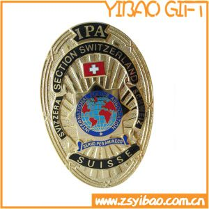 Metal Badge with Gold Plating (YB-p-029) pictures & photos