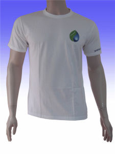 Men′s Custom Cotton Round Neck T-Shirt pictures & photos
