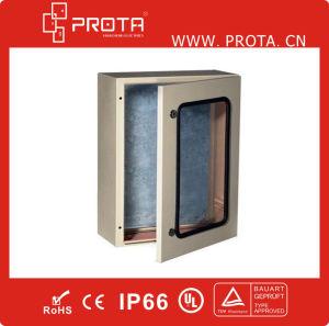IP66 Waterproof Wall Mounted Enclosure with Plexiglass Inner Door pictures & photos