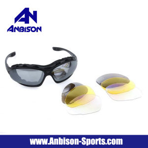 Anbison-Sports Ipsc UV400 Eye Protection Airsoft Sunglasses pictures & photos