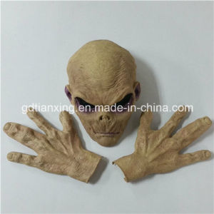 Hot New Style Halloween Costume Deluxe Alien Mask and Glove Set pictures & photos