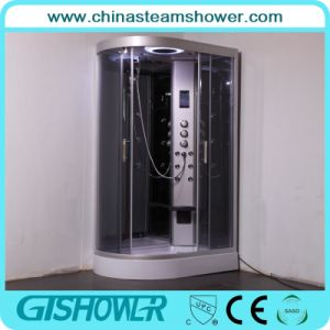 Curved Bathroom Steam Shower Unit (GT0532R) pictures & photos