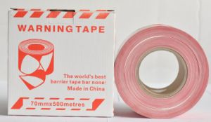 High Quality Non-Adhesive PE Caution Tape pictures & photos