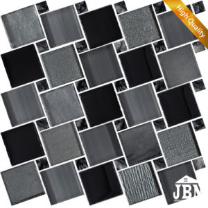 2016 Popular Design Brown Color Glass Mosaic Wall Tiles (M855158) pictures & photos