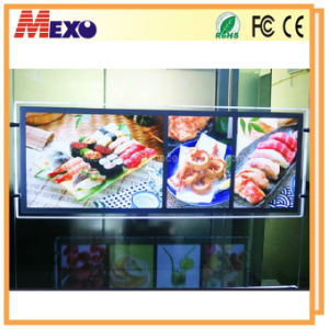 A3l+A4px2 Magnetic LED Acrylic Advertisement Light Box (CHD03) pictures & photos