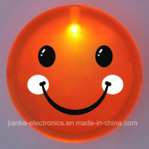 New PS Flashing Smiley Face Badges with Customized Design (3569) pictures & photos