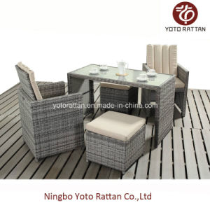 Rattan Dining Set for Outdoor with SGS Certificated (417-A) pictures & photos