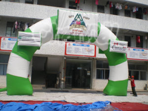 Outdoor Round Advertising Inflatable Printed Air Arch (CHT010) pictures & photos
