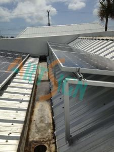 Solar Energy Mounting System- Flat Roof pictures & photos