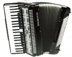 Goldencup Perfermance Piano Accordion 41 Keys 120 Bass pictures & photos