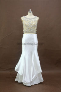 100% Real Photos Custom Made Evening Dresses with Beading