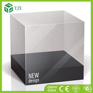 Display Rectangle Gift Clear Plastic Packaging Box for Cup Mug pictures & photos