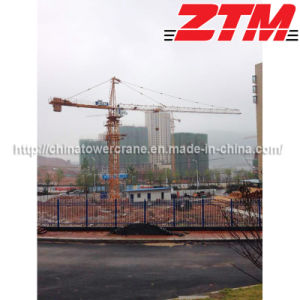 Competitive Price Tip Top Tower Crane with High Quality (TC6010 ISO9001: 2008)