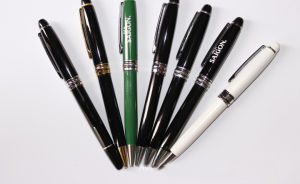Luxury Good Quality Metal Custom Twist Mechanism Ball Pen pictures & photos