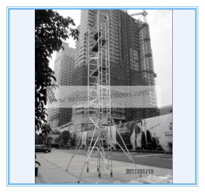 Ce Passed Aluminum Scaffolding System for Decoration pictures & photos