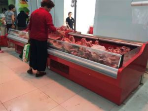Pug-in Meat Service Counter Sushi Display Cooler pictures & photos