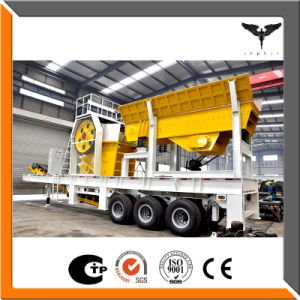 Portable Aggregate Crushing Plant for Sale in Russia pictures & photos