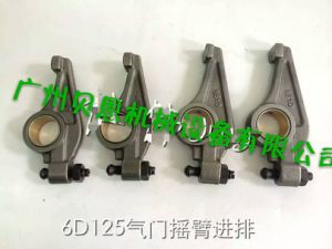 6D125 Valve Arm Rocker (inlet and exhaust) for Diesel Egnine Model Made in China Sk460-8/PC400-7 pictures & photos