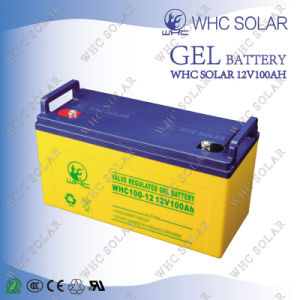 Factory Direct Shipping 12V 100ah Deep Cycle VRLA Solar Gel Battery pictures & photos