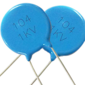 High Voltage Disc Ceramic Capacitor (1KV to 15KV) Y2 250VAC Interference Suppression Blue Tmcc02 pictures & photos