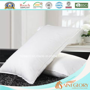 White Goose Duck Feather Down Filling Neck Pillow pictures & photos