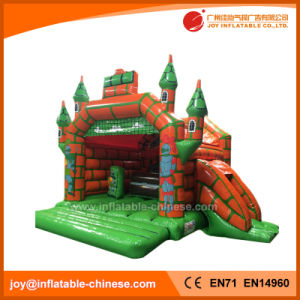 Inflatable Green Magic Princess Bouncy Castle for Kids Toy (T2-010) pictures & photos