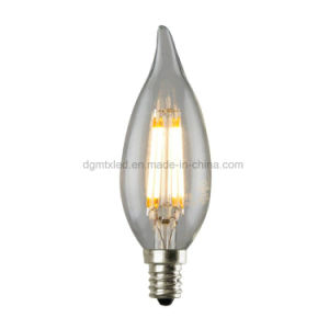 Energy Caving C35 4W Candle LED Filament Bulb pictures & photos