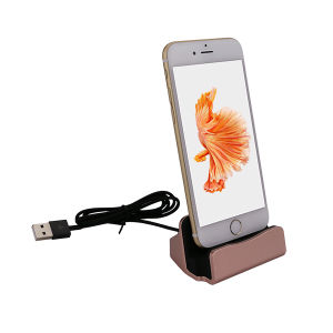 Charging Dock Desktop Charging Docking Station for iPhone 6/6plus/6s/6s Plus pictures & photos