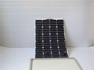 75W Flexible Solar Panel with Certification of Ce CQC and TUV
