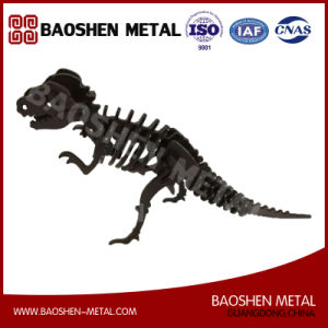 Precisely Exquisitely Made Metal Art Office/Gift/Home Decoration Dinosaur Laser Cutting Manual Fabricate pictures & photos