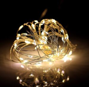 Waterproof Outdoor Xmas Christmas Decoration Light LED Cooper Wire String Light pictures & photos