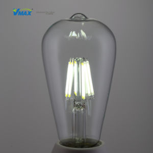 St64 LED Edison Bulb LED Filament Candle Light Energy Saving Lamp for Decoration pictures & photos