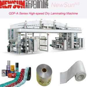 Qdf-a Series High-Speed BOPP Film Dry Lamination Machinery pictures & photos