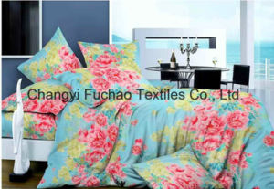 Silk/Poly/Cotton Bedding Set China Supplier with Lowest Prices pictures & photos
