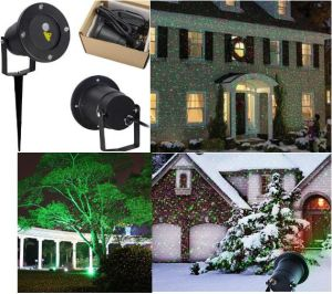 Christmas/Festival Remote Control Dynamic Outdoor Laser Light