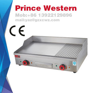 Commercial Hot Sale Tabletop Stainless Steel Electric Hamburger Griddle pictures & photos
